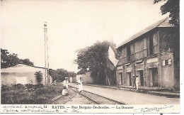 MALI - KAYES - Rue Borguis Desbordes - La Douane - Mali