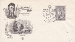 ARGENTINIEN-ARGENTINA, 1961, Special Stamp / Postmark !! - Argentina