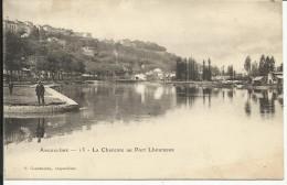 ANGOULEME , La Charente Au Port Lhoumeau , CPA ANIMEE - Angouleme