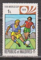 MALDIVAS 1974. MUNDIAL 74. NUEVO - MNH ** - Copa Mundial
