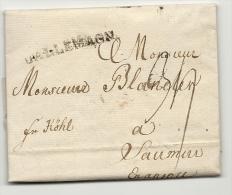 Allemagne - Apolda Pour Saumur (Maine Et Loire). LAC De 1781 - [1] Voorlopers