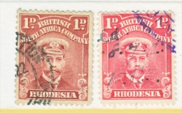 BR. SOUTH  AFRICA CO    120, 120 B   (o) - Southern Rhodesia (...-1964)