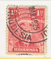 BR. SOUTH  AFRICA CO    120 B   BRIGHT  ROSE   (o) - Southern Rhodesia (...-1964)