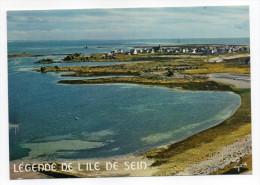 Ile De SEIN --1983--Vue Générale Aérienne... Au Dos Légende De L'ile De Sein,cpm N°4194 éd Jos - Ile De Sein