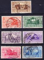 ITALIE 1930 YT N° 263 à 269 Obl. - Usati