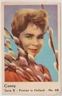 Conny Vintage Movie Film Star Card Holland - Carte Vintage Movie Film Étoile Hollande - 1960´s - Chromos