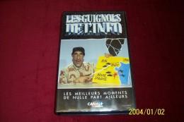 LES GUIGNOLS DE L'INFO  °° LES MEILLEURS MOMENTS DE NULLE PART AILLEURS - Séries Et Programmes TV
