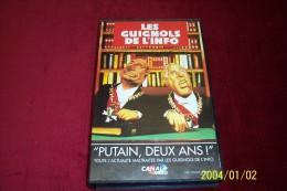 LES GUIGNOLS DE L'INFO  °°   PUTAIN DEUX ANS - Séries Et Programmes TV