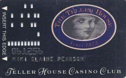 Teller House Casino 1st Issue Slot Card - Casino Cards