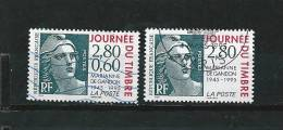 France  Timbre De 1995  Journée Du Timbre  N°2933/34   Timbres Oblitérés - France