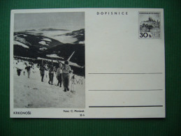 Czechoslovakia 1965: CDV 153-8 -  Postal Stationery Entier Ganzsache - Krkonose - Unused - Entiers Postaux