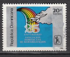 République Dominicaine, Réhabilitation, Handicapé, Handicaps, Handicapped, Arc-en-ciel, Rainbow, Nuage, Cloud, Oiseau, - Handicaps