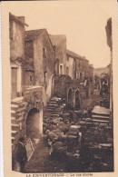 12---LA COUVERTOIRADE---la Rue Droite---voir 2 Scans - Autres Communes