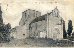 Laruscade - Eglise Saint Exupère - France