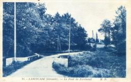 Laruscade - Pont De Ferchaud - France