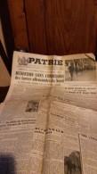 JOURNAL PATRIE 6-7 MAI 1945-reddition Sans Conditions - Autres