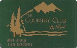 Hyatt Regency Lake Tahoe 1st Issue Slot Card - Casino Cards