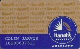 Harrah´s Casino Skycity Aukland Slot Card - Casino Cards