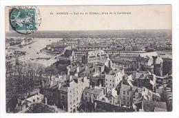 44 Nantes N°46 VOIR ZOOM Manufacture Des Biscuits LU Vue Vers Le Château Prise De La Cathédrale En 1909 - Nantes