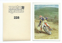 20 Vignettes Editions BEAUBOURG : MOTO SPRINT FLASH De 1982 à Choisir Parmi 45 - Altri