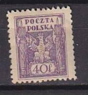 PGL - POLOGNE Yv N°165 * - 1939-44: World War Two