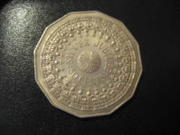 50 Cts 1977 QEII Silver Jubilee AUSTRALIA Coin - Monnaie Décimale (1966-...)