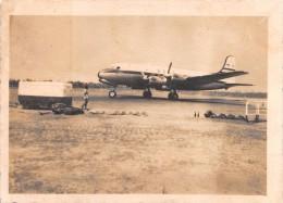 """02761 """"AEREO - DOUGLAS DC4 - BOAC""""   ANIMATA. FOTOGRAFIA ORIGINALE. - Aviazione"""