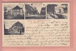 OLD POSTCARD GERMANY DEUTSCHLAND  GRUSS AUS MARKTSTEFT 1905 - Kitzingen
