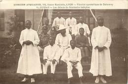 - Pays Divers - Afrique - Ref E 301 - Dahomey - Ouidah - Les Debuts Du Seminaire Indigene - Carte Bon Etat - - Dahomey