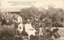 - Pays Divers - Afrique - Ref E 296 - Dahomey - Zagnanado - Une Leçon De Catechisme - Carte Bon Etat - - Dahomey