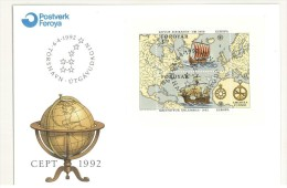 FDC ISLANDA - EARLY PACIFIC EXPLORERS - ANNO 1994 - NORFOLK ISLAND - SPANISH CARAVELS USED IN EARLY PACIFIC NAVIGATION - - FDC