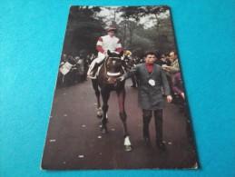 - Hippisme -  - Courses De Chevaux - Jean Claude Desaint Sur Spirou - Calendrier Décembre 1967-bon état - Calendriers