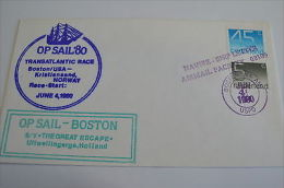 Netherland SY The Great Escape Tall Ship Op Sail 80 Norway Boston 4/6/80 - Unclassified