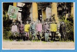 ASIE  - LAOS -- Groupe De Mandarins Pou Eun Au Tranninh - Laos