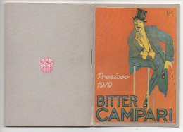 """02765 """"CALENDARIETTO - PREZIOSO 1979 - BITTER CAMPARI""""  OMAGGIO DAVIDE CAMPARI - MILANO - Calendari"""