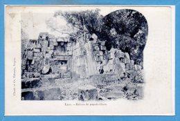 ASIE  - LAOS -- Ruines De Pagode Cham - Laos