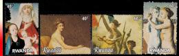Rwanda 1126/29**  Filexfrance Et Belgica 82  MNH - Rwanda