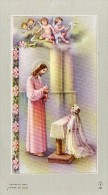 510Bf   Image Pieuse Souvenir Communion Solennelle église De Laragne (05) Marie Thérese Ramponi En 1955 - Religion & Esotérisme
