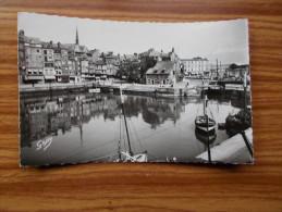 HONFLEUR  Le Vieux Bassin Et La Lieutenance  Années 50 - Honfleur