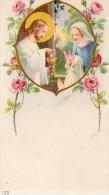 510Bf   Image Pieuse Souvenir Communion Solennelle église De Laragne (05) Jocelyne Brunet En 1954 - Religion & Esotérisme