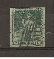 MAURICE - Timbre Non Dentelé, Belle Marge - N° 12: Côte 350€ - Maurice (1968-...)