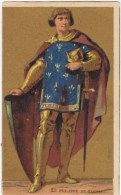 Cromo  PHARMACIE REGIONALE DE REIMS Philippe De Valois - Chromos