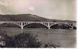 AIN - LAGNIEU - Le Pont Sur Le Rhône Et Les Monts Du Bugey - France