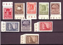 COLONIE EMISSIONI GENERALI  1932  S. 10   NUOVO**  9 VALORI - Emissions Générales