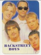 Pocket Calendar Russia 2000  - The Group Backstreet Boys - Formato Piccolo : 1991-00