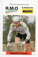 Cyclisme - Michel Vermote, R.M.O. Mavic 1988 - Cyclisme