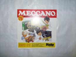 Meccano et Dinky Toys. 5 catalogues. De 1971 � 1978.