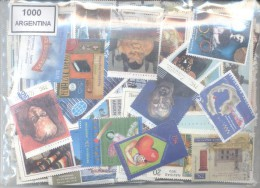 ARGENTINE 1000 DIFFERENT STAMPS ARGENTINA ARGENTINIEN TIMBRES  ZEGELS BOLLI SELOS STÄMPLAR دمغ - Postzegels