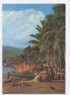 MARTINIQUE - SAINT PIERRE-FILETS SUR LA PLAGE -RECTO/VERSO-C25 - Martinique