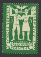 Argentina, 5 C. 1947, Sc # 571, MH - Argentina